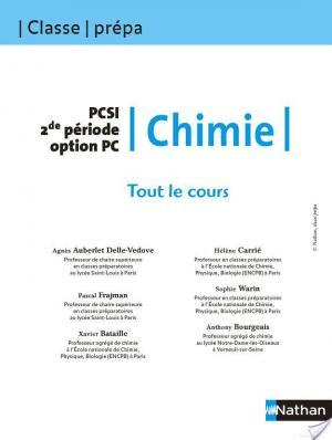 Affiche Tout le Cours - Chimie - PCSI 2e période option PC
