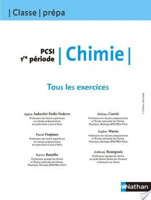 Affiche Tous les Exercices - Chimie - PCSI 1re période