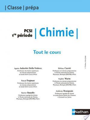 Affiche Tout le Cours - Chimie - PCSI 1re période