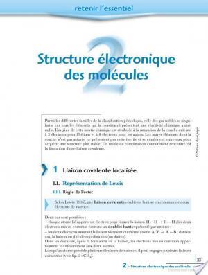 Affiche chap.2 - Structure électronique des molécules