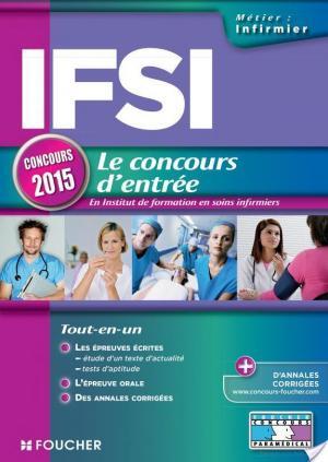 Affiche IFSI - Concours d'entrée 2015 -