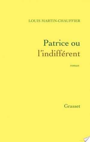 Affiche Patrice ou l'indifférent