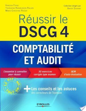 Affiche Réussir le DSCG 4 - Comptabilité et audit