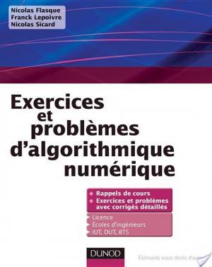 Affiche Exercices et problèmes d'algorithmique numérique