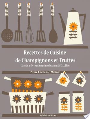 Affiche Recettes de Cuisine de Champignons et Truffes