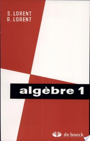Affiche Algèbre 1