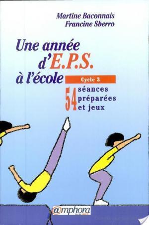 Affiche Une année d'EPS à l'école
