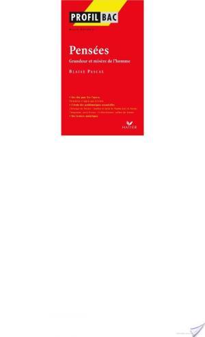 Affiche Profil - Pascal : Pensées, Grandeur et misère de l'homme