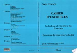 Affiche CAHIER D'EXERCICES - LA LECTURE ET L'ECRITURE DU FRANÇAIS
