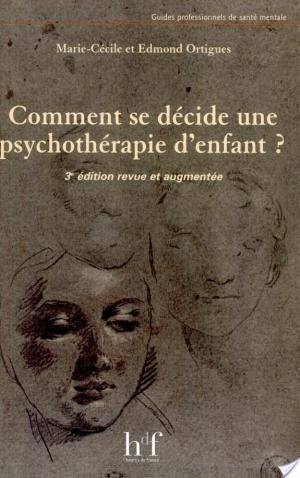 Affiche Comment se décide une psychothérapie d'enfant ?