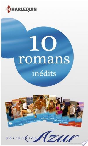 Affiche 10 romans Azur inédits + 2 gratuits (no3445 à 3454 - mars 2014)
