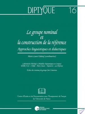 Affiche Le groupe nominal et la construction de la référence
