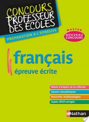 Affiche Français – écrit
