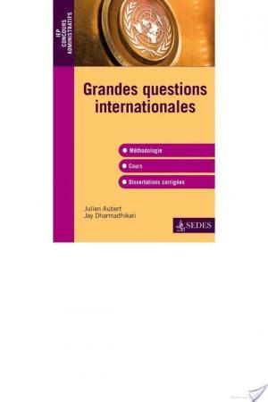 Affiche Les questions internationales