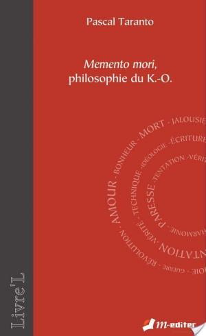 Affiche Memento mori, philosophie du K.-O.