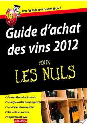 Affiche Guide d'achat des vins 2012 Pour les Nuls