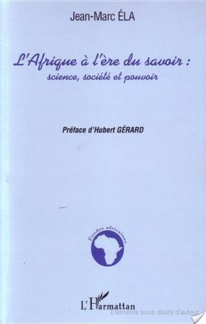 Affiche L'Afrique à l'ère du savoir