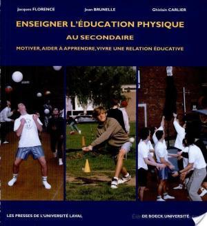Affiche Enseigner l'éducation physique au secondaire