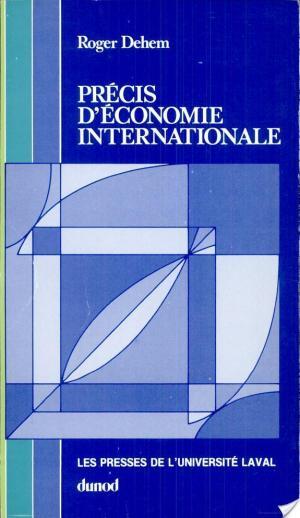 Affiche Précis d'économie internationale