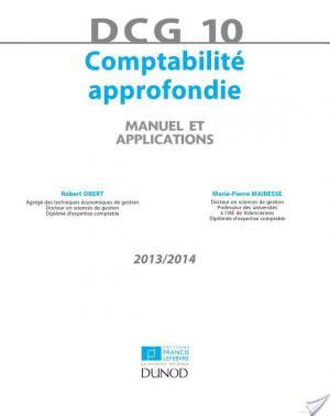 Affiche DCG 10 - Comptabilité approfondie 2013/2014 - 4e édition
