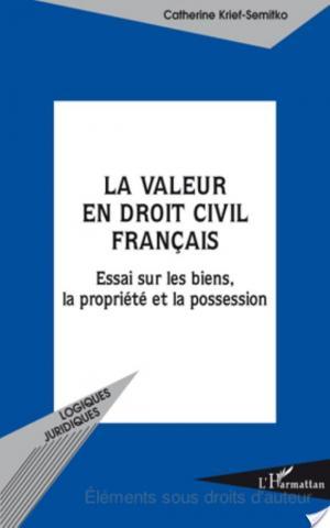 Affiche La valeur en droit civil français