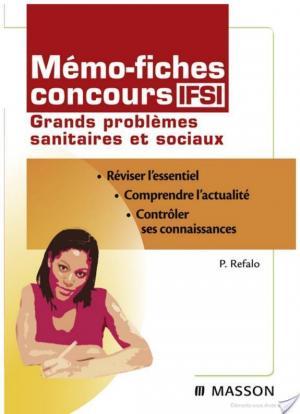 Affiche Mémo-fiches concours IFSI Grands problèmes sanitaires et sociaux