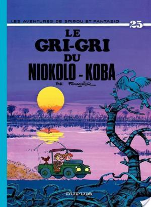 Affiche Spirou et Fantasio - Tome 25 - LE GRI-GRI DU NIOKOLO-KOBA
