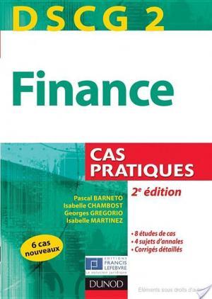 Affiche DSCG 2 - Finance - 2e édition