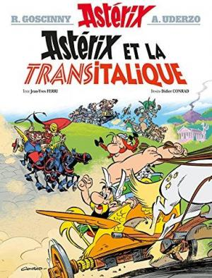 Affiche Astérix - Astérix et la Transitalique - n°37