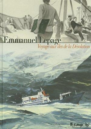 Affiche Voyage aux îles de la Désolation