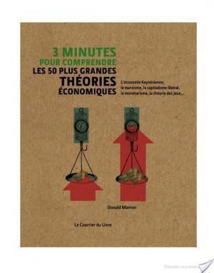 Affiche 3 minutes pour comprendre les 50 plus grandes théories économiques