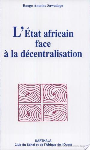Affiche L'état africain face à la décentralisation