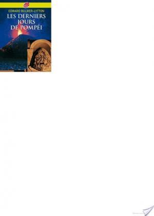 Affiche Les derniers jours de Pompéi - Texte abrégé
