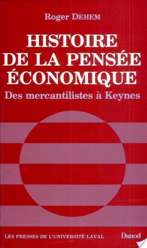 Affiche Histoire de la pensée économique