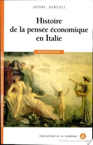 Affiche Histoire de la pensée économique en Italie