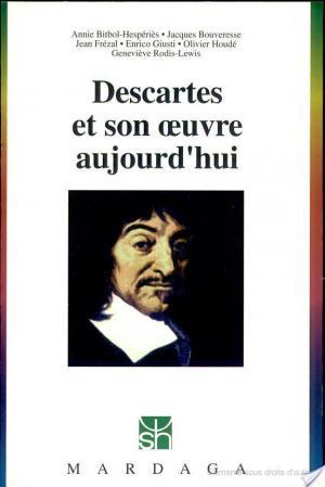 Affiche Descartes et son œuvre aujourd'hui