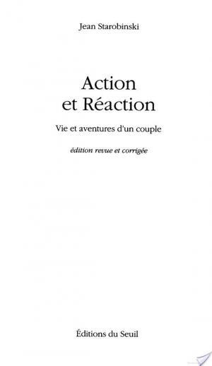 Affiche Action et Réaction. Vie et aventures d'un couple