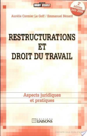 Affiche Restructurations et droit du travail