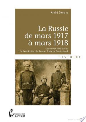 Affiche La Russie de mars 1917 à mars 1918