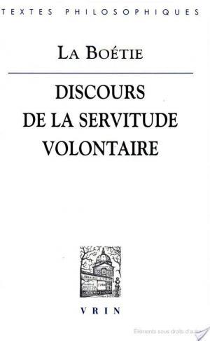 Affiche Discours de la servitude volontaire