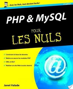 Affiche PHP et MYSQL Pour les Nuls
