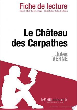 Affiche Le Château des Carpathes de Jules Verne (Fiche de lecture)