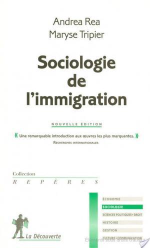 Affiche Sociologie de l'immigration