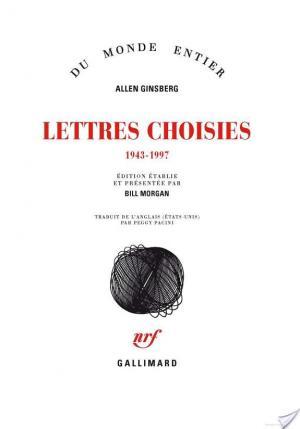 Affiche Lettres choisies