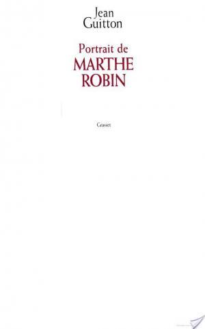 Affiche Portrait de Marthe Robin