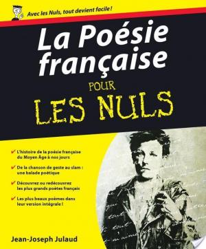 Affiche La Poésie française Pour les Nuls