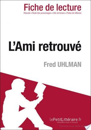 Affiche L'Ami retrouvé de Fred Uhlman (Fiche de lecture)