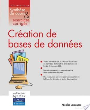 Affiche Création de bases de données
