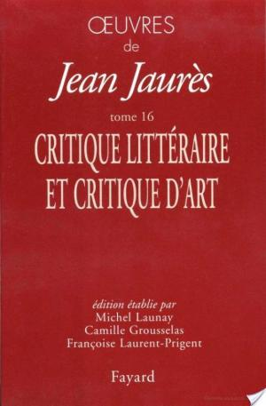 Affiche Oeuvres tome 16