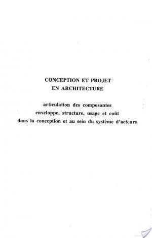Affiche CONCEPTION ET PROJET EN ARCHITECTURE